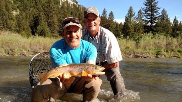 Guided fly fishing on Montana's Smith River