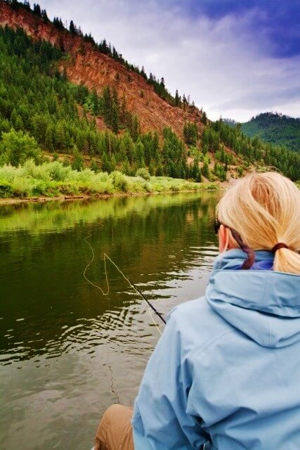 Dearborn River fly fishing float trip Montana - what's not to like?