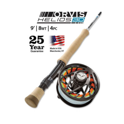 Orvis Helios 3D 8-Weight 9' Fly Rod - Blackfoot River Outfitters | Missoula, Montana