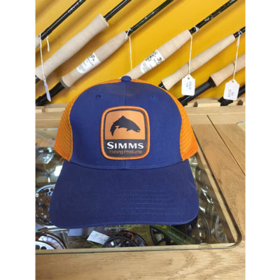Simms Patch Trucker Cap - Dusk - Blackfoot River Outfitters