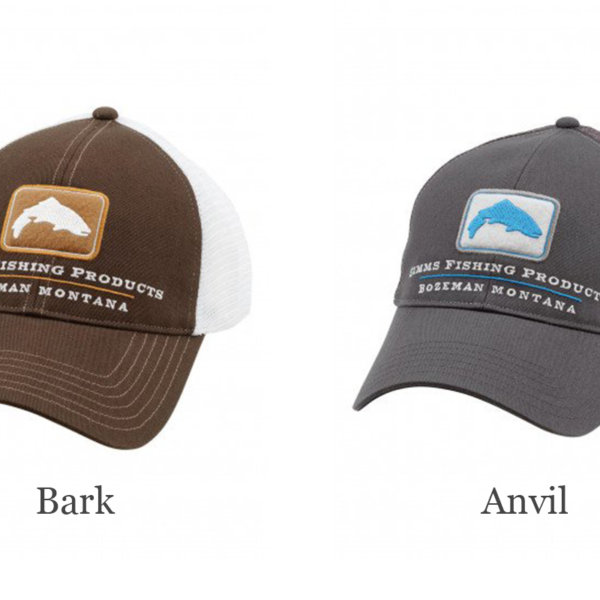 Simms Trout Trucker Hat - Blackfoot River Outfitters